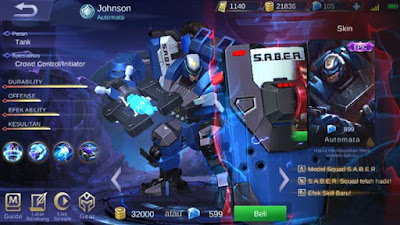 Tutorial Johnson Mobile Legends