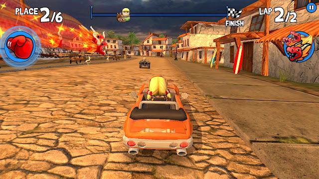 game android rumble racing
