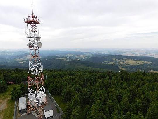 Antena na Wielkiej Sowie.