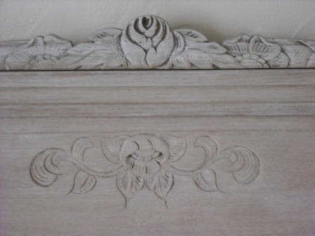 peindre lit en bois tete de lit en bois brut a peindre tate de lit peindre un lit en bois. Black Bedroom Furniture Sets. Home Design Ideas