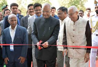 President Ram Nath Kovind inaugurated FINE in Gujarat