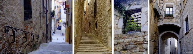 El Call, bairro judeu em Girona, Espanha