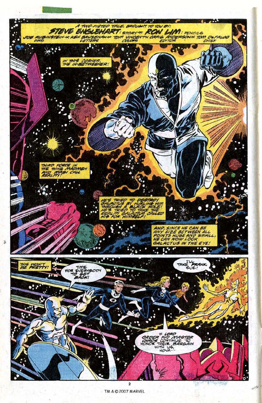 Read online Silver Surfer (1987) comic -  Issue #18 - 4