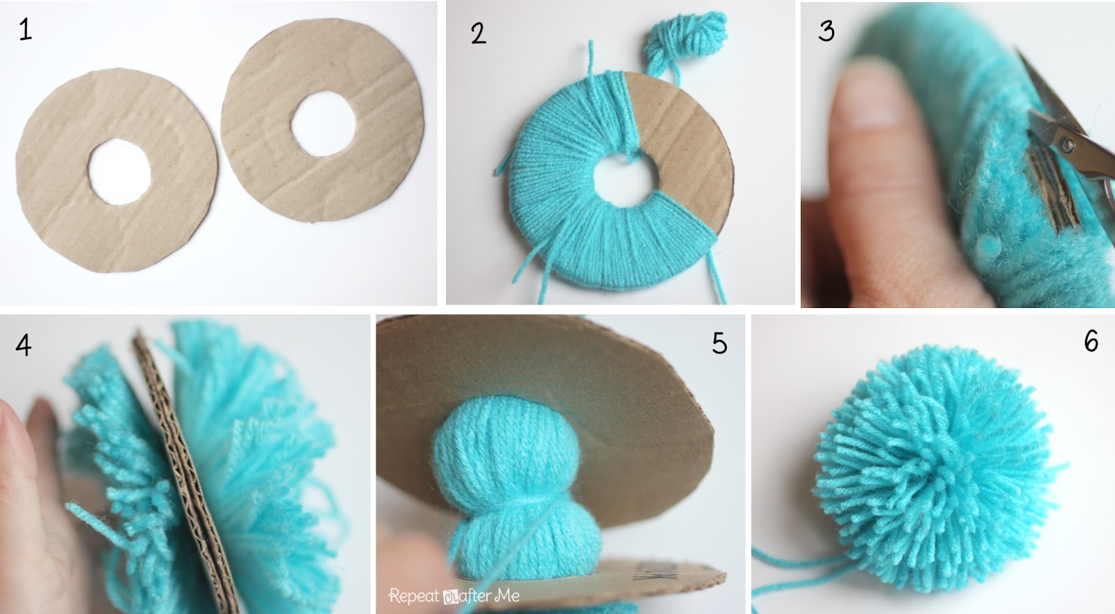 photograph about Thing 1 and Thing 2 Printable Circles named Detail 1 and Factor 2 Crochet Hats - Repeat Crafter Me