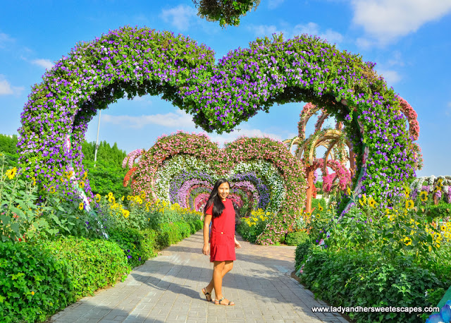 Heart Passage in Dubai Miracle Garden