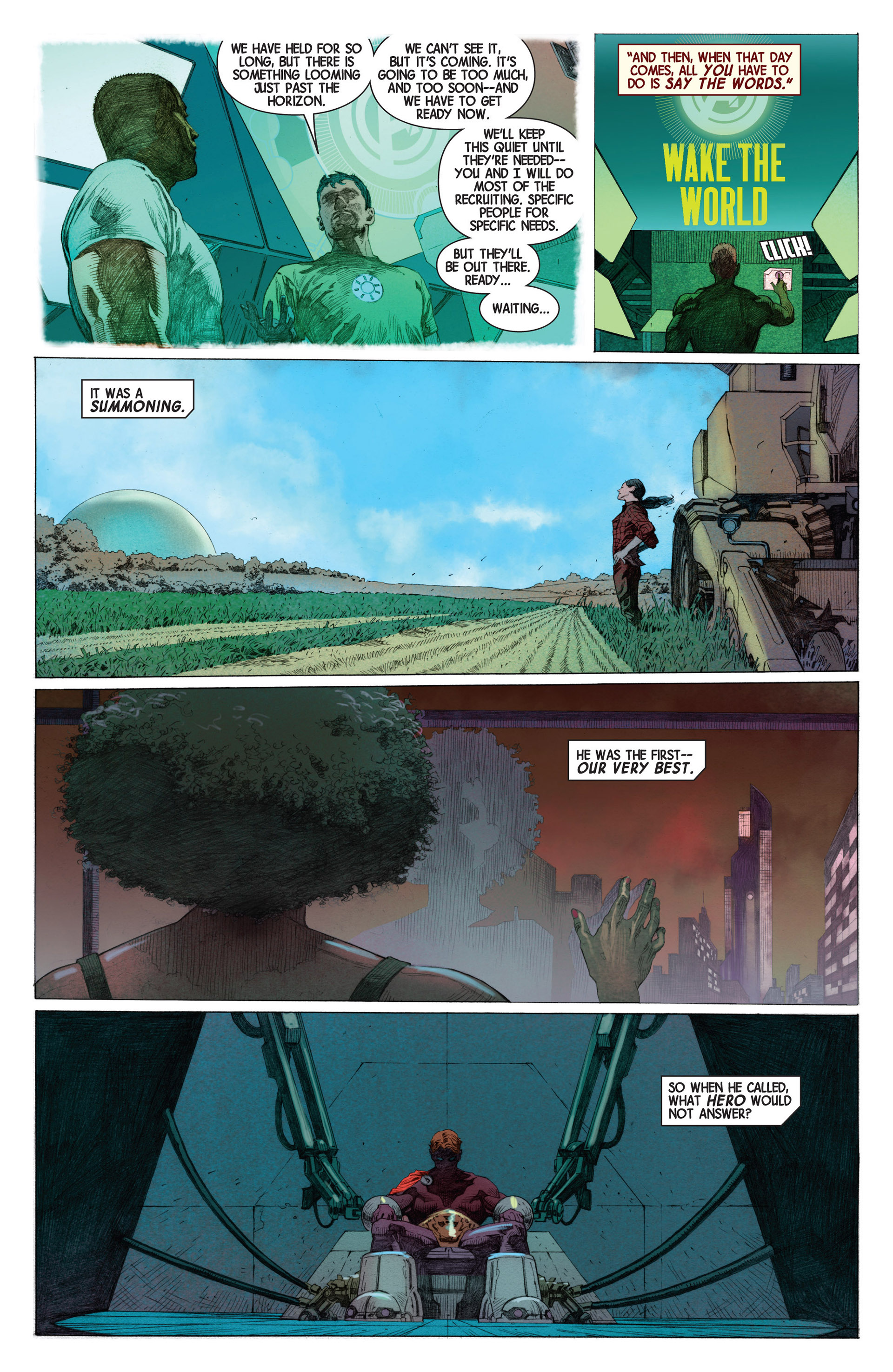Read online Avengers (2013) comic -  Issue #1 - 22