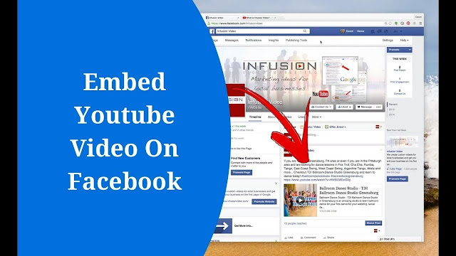 Linking youtube videos on facebook: how effective is it? 3