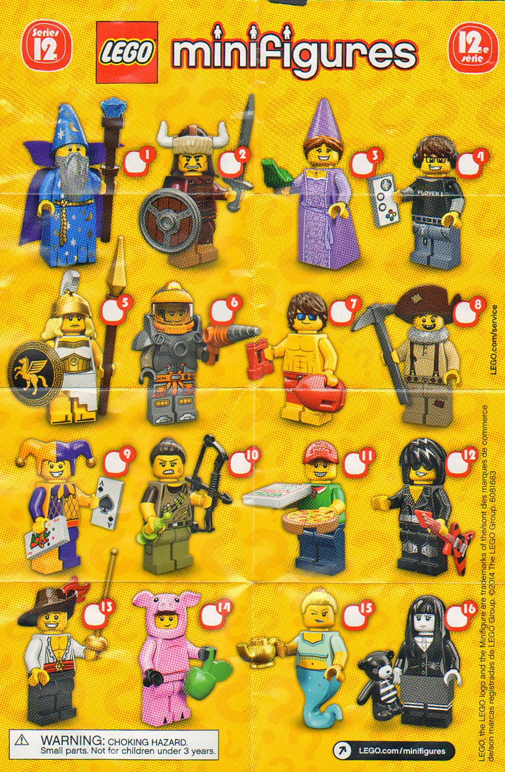 The Minifigure Collector: Lego Minifigure Series 1 -18, Ninjago