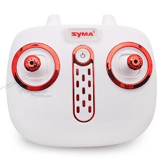 syma-x5uw quadcopter drone transmitter