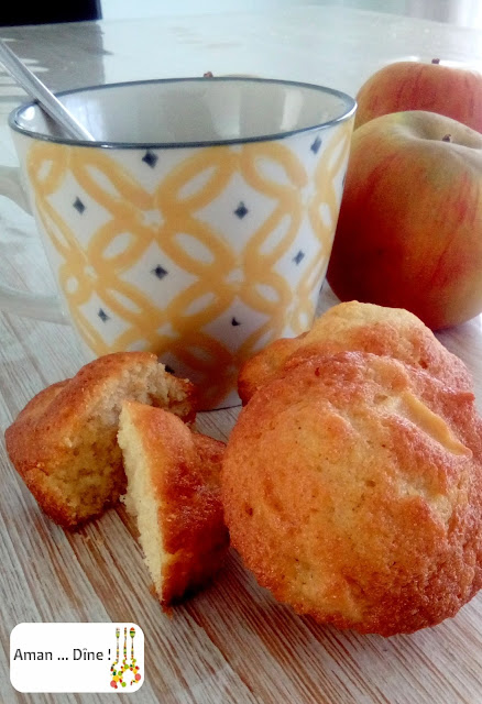 Muffins pommes et cannelle