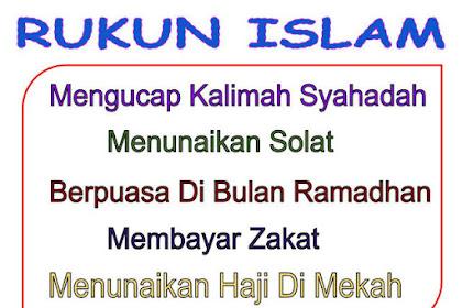 Pengertian, Makna, Dan Penjelasan Urutan Rukun Islam Lengkap