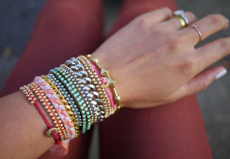 pulseras, brazaletes, macrame, bisutería