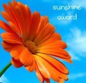Sunshine Award: You Are My Sunshine