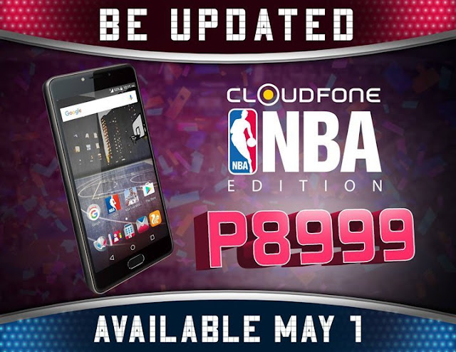 Cloudfone NBA Edition now available in Lazada