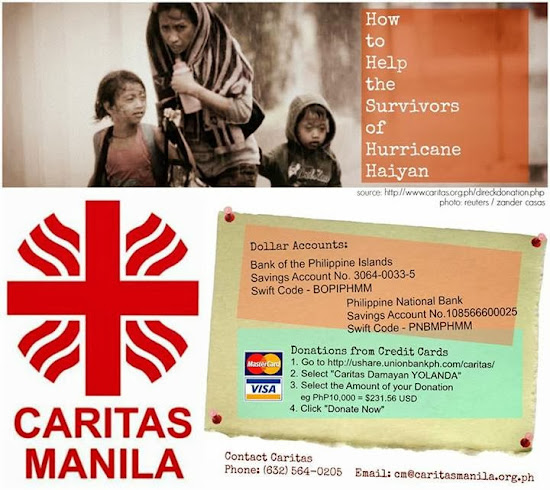 Details of dollar accounts of Caritas Manila