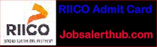 RIICO Admit Card