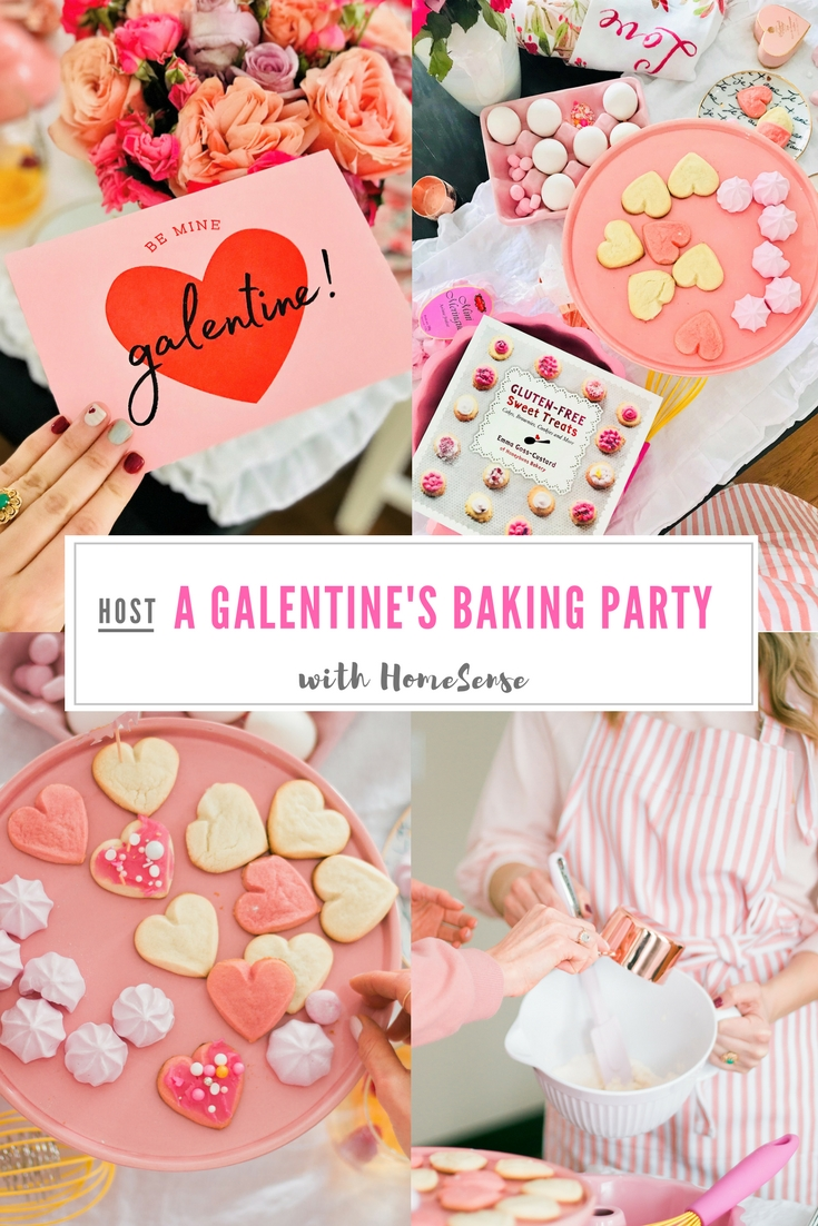 Baking The Most Of Galentine\'s Day - How To Host a Cookie Decorating ...