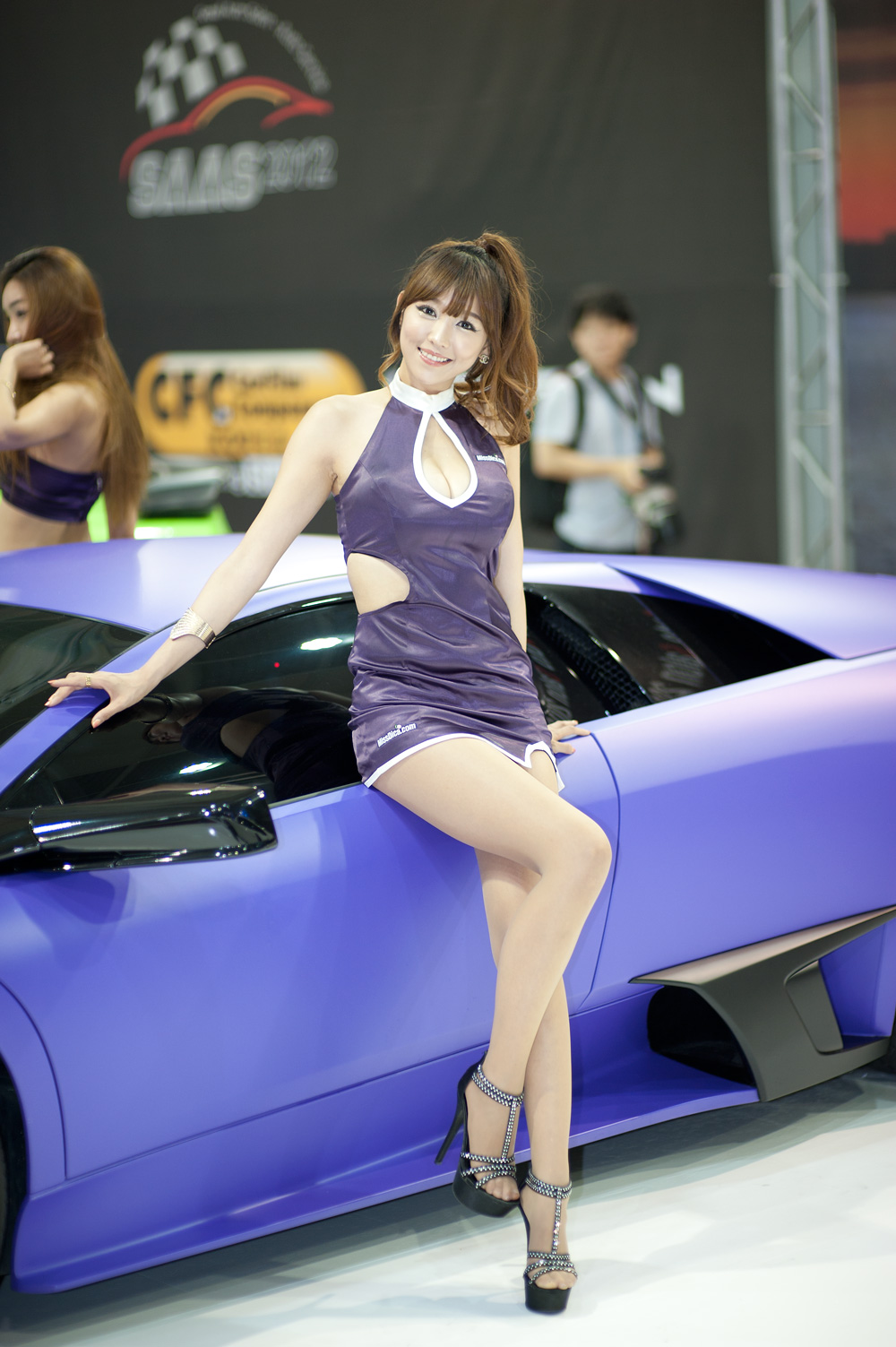 xxx nude girls: Lee Eun Hye - Seoul Auto Salon 2012