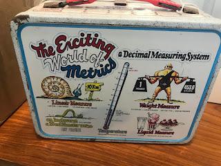 Metric Lunch Box