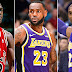 Quién fue elegido el mejor jugador de la historia por los propios jugadores de la NBA entre Jordan, LeBron James y Kobe Bryant