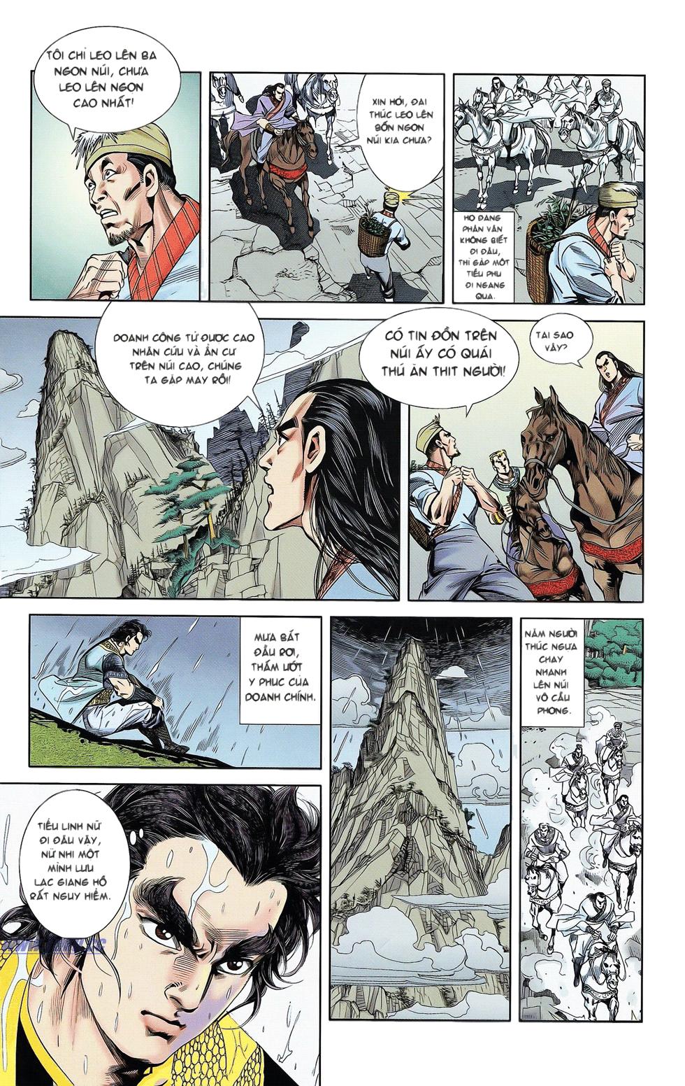 Tần Vương Doanh Chính chapter 17 trang 27