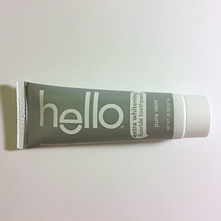 Hello Extra Whitening Toothpaste in Pure Mint