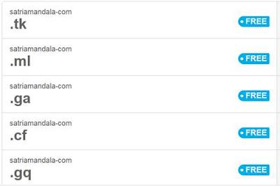 Tentang Domain Gratis