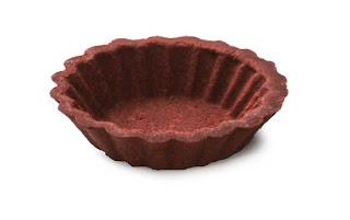 Raw Food Recipes  -Raw Chocolate Custard Tarts - NUT FREE