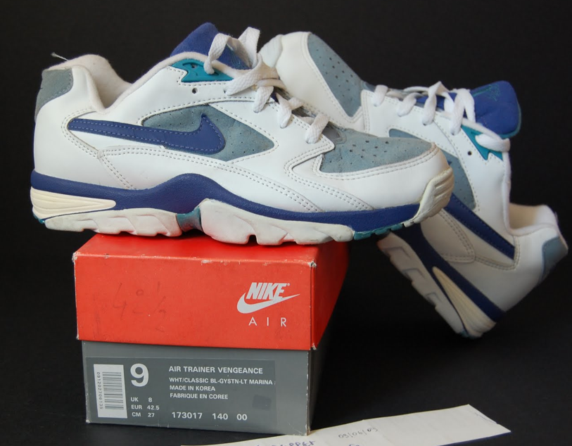 new products 2f0e1 f7997 1993 NIKE AIR TRAINER VENGEANCE WHTCLASSIC BL-GYSTN-LT MARIN