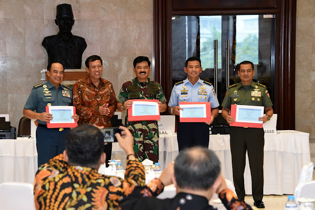 Panglima TNI : Prajurit dan PNS TNI Wajib Laporkan SPT Tahunan Tepat Waktu