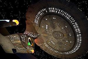 Az Enterprise az urben