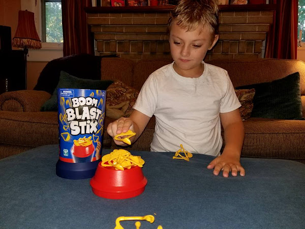 For Explosive Family Game Night Fun, Check Out Boom Blast Stix! #MBPSummerFun
