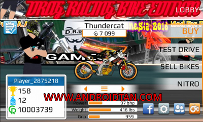 Download Game Drag Racing Bike Edition Mod Apk v2.0.2 Terbaru