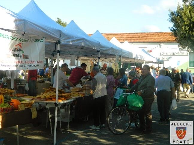 Mercato - Filiera corta - Terra - Prato