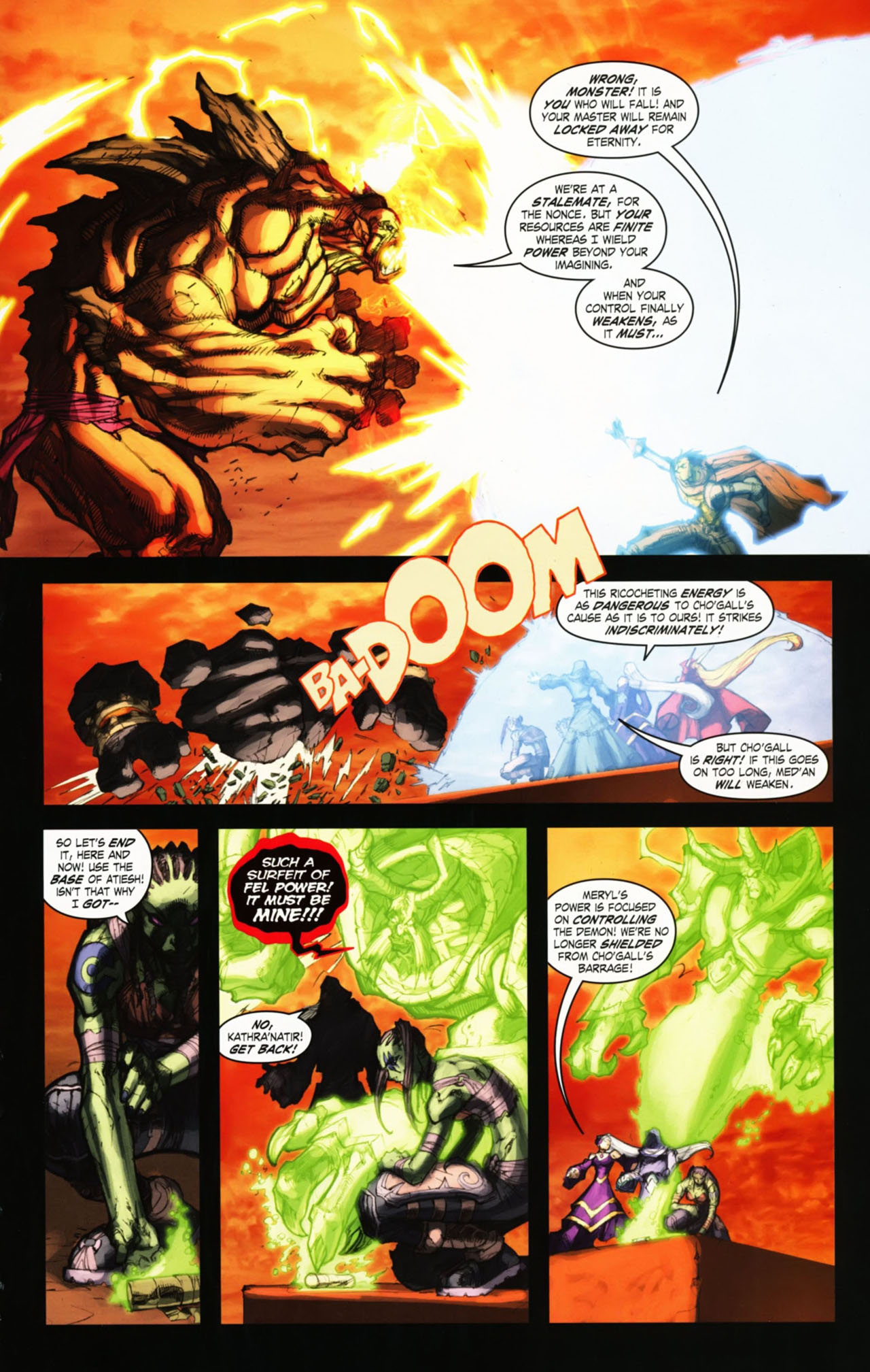 Read online World of Warcraft comic -  Issue #25 - 22