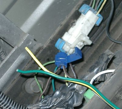 Milt Reynolds: Thinking Out Loud: How to Connect Trailer Wiring: 2003 Chevy S10 Pickup