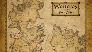 Mapa Westeros