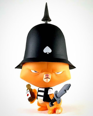 Satan's Aces: Ironside Battalion Orange Resin Figures by Sam Fout