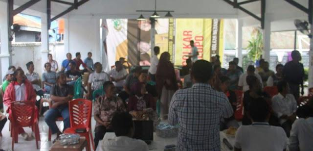 Silaturahim dengan Warga, Ome Sampaikan Motivasinya Maju di Pilwalkot Palopo 2018