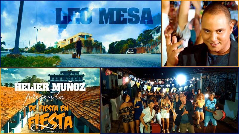 Leo Mesa - ¨De Fiesta en Fiesta¨ - Videoclip - Dirección: Helier Muñoz. Portal Del Vídeo Clip Cubano - 01
