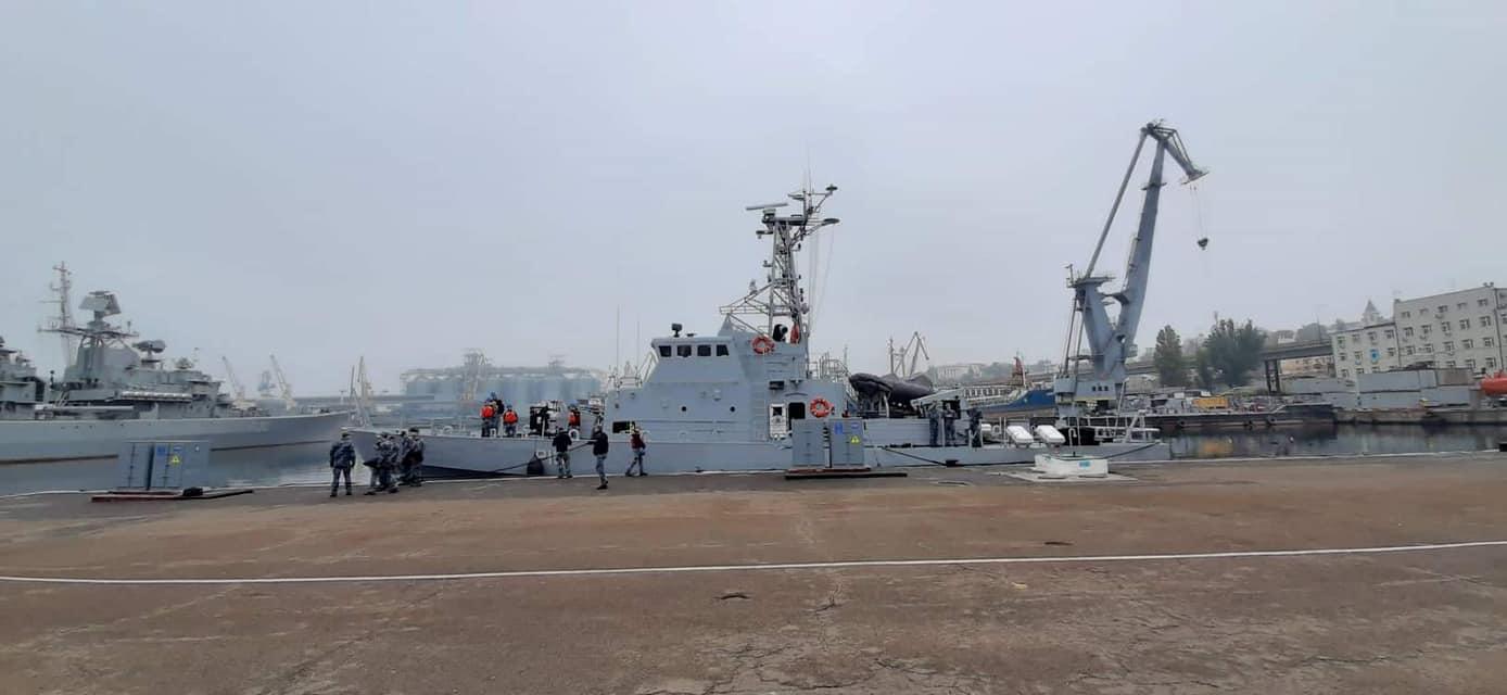 В Одесі спустили на воду патрульні катери Island