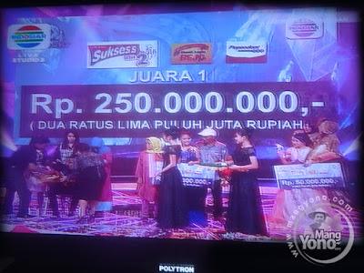 Fildan Baubau Juara 1 -  Rp. 250.000.000
