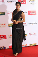 Sindhu looks fabulous in Black Saree designer choli at Mirchi Music Awards South 2017 ~  Exclusive Celebrities Galleries 059.JPG
