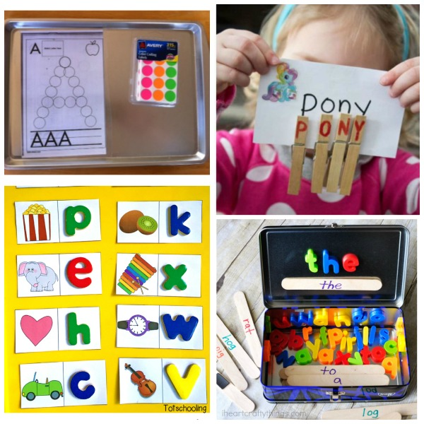 50 FUN WAYS FOR KIDS TO LEARN AND REVIEW THE ALPHABET