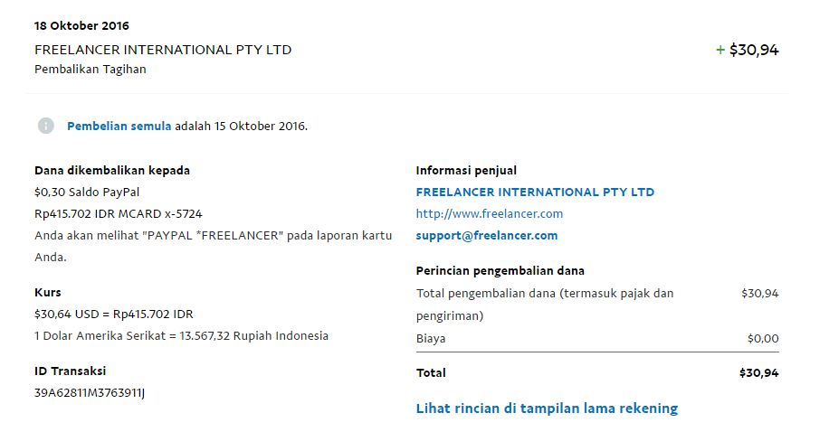 refund payment dari paypal