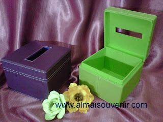 souvenir box tisu finil eksklusif, souvenir pernikahan ekskllusif, souvenir nikah