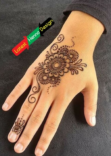 Mehndi For Thin Hands : Latest henna designs for eid beautiful drawing mehndi