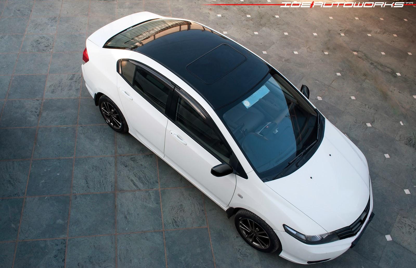 Honda City Roof Wrap Ide Autoworks
