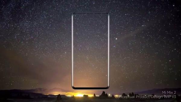 Xiaomi Mi Mix 2 Sızdırıldı