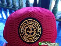 Jual Topi Purna Paskibraka Indonesia Warna Merah Murah Bisa Custom Logo